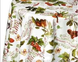 Клеенка DEKORAMA 1,4м 091А фрукты ягоды на белом