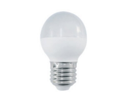 Лампа  LED ПРОГРЕСС Шар  9Вт Е27 (Белый свет)