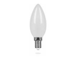 Лампа  LED ПРОГРЕСС Свеча  9Вт Е14 (Белый свет)