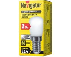 Лампа Navigator 71 286 (E14-2Вт) LED для холод.