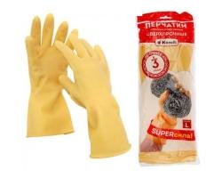 Перчатки латексные СВЕРХПРОЧНЫЕ  XL