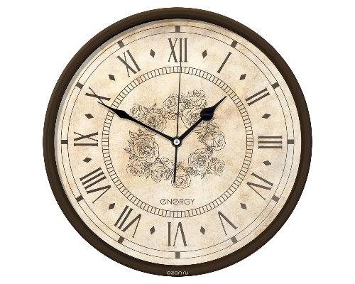 Часы настенные кварцевые ENERGY ЕC-106 круглые