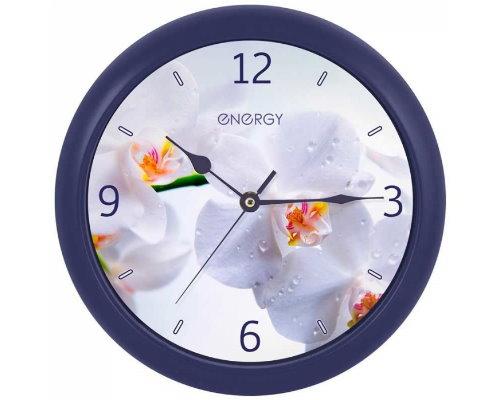 Часы настенные кварцевые ENERGY ЕC-110 орхидея