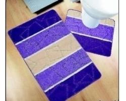 Коврик для ванной Avangart 1пр 60*100см лиловый