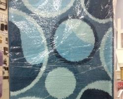 Коврик для ванной Millenium 2пр 60*100см сине-гол.