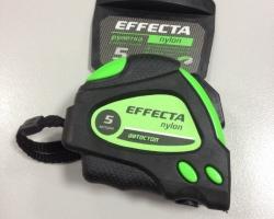 Рулетка Effecta Nylon  5м/25мм с магнитом