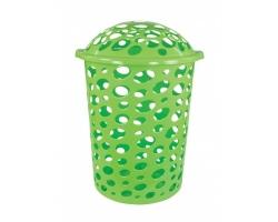 Корзина для белья 45л Сорренто зеленый М1707