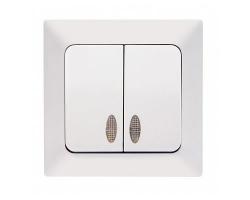 Выключатель Aras 110-03И NE-AD (2кл, с/п, инд)