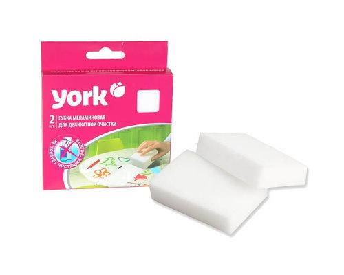 Губка Йорк для деликатной очистки 2шт.