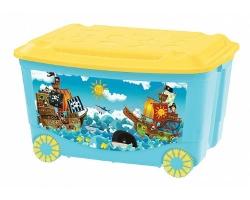 Ящик для игрушек 580*390*335мм на колес. 13809 БЫТ