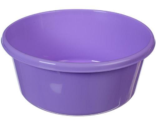 Таз пластм.  6л круглый салатовый 2511 IDEA