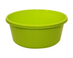 Таз пластм.  8л круглый салатовый 2512 IDEA