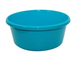 Таз пластм. 14л круглый салатовый 2514 IDEA