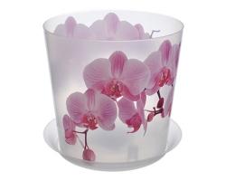 Кашпо Деко Д160мм 2,4л Орхидея с/п 3106 IDEA