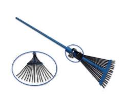 Грабли веерные с метал. ручкой ГВ-С 649