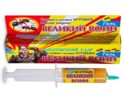 Средство от муравьев Гель Великий воин 80г