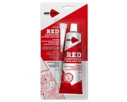 Герметик для прокладок 85г AIM-ONE Красный