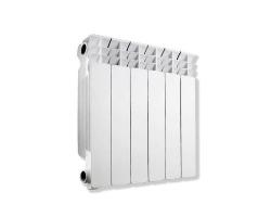 Радиатор биметал. АКВАПРОМ BI 500/80 ( 8 секций)