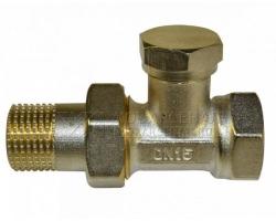 Клапан запорный для радиатора прямой 1/2 СТМ