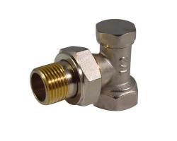 Клапан запорный для радиатора угловой 1/2 СТМ