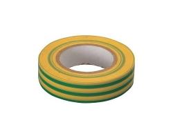 Изолента ПВХ 19мм*20м желто-зеленая
