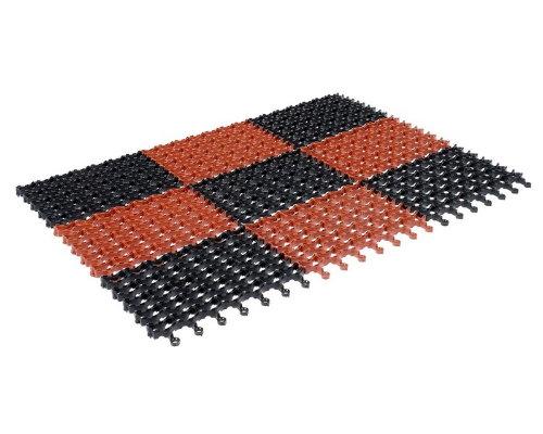 Коврик придверный Modull 42*60см коричневый