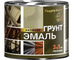 Грунт-эмаль 3-в-1 Оранжевая 1,9кг (Радуга)