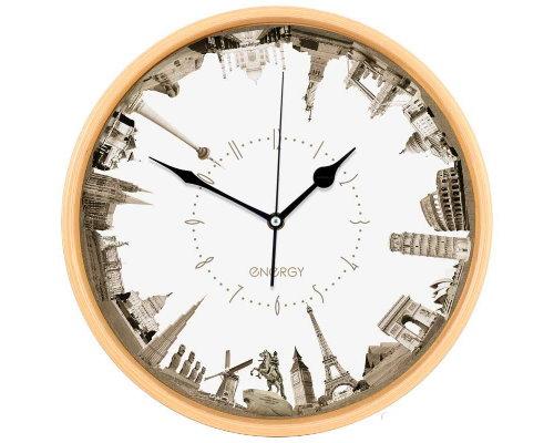 Часы настенные кварцевые ENERGY ЕC-109 города