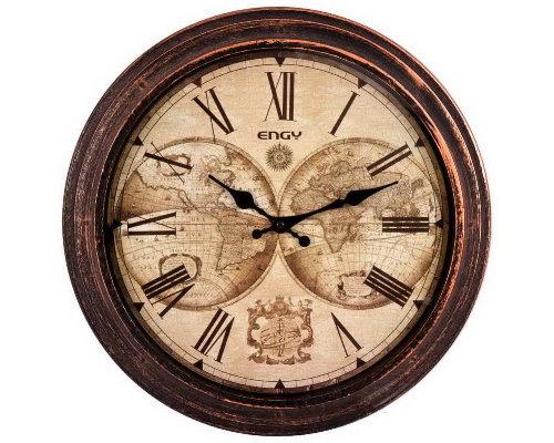 Часы настенные кварцевые ENERGY ЕC- 17 круглые