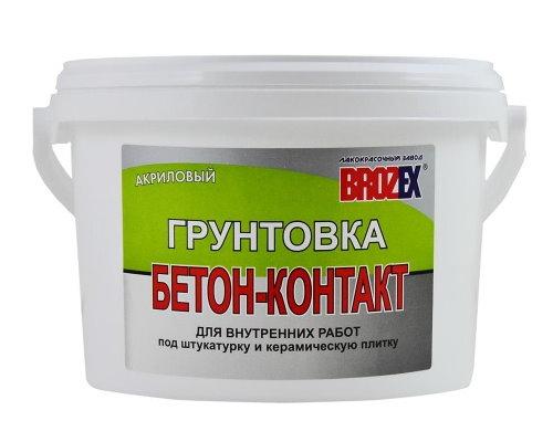 Грунт БЕТОН-КОНТАКТ для внутр.работ 20,0 кг BROZEX