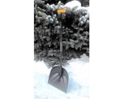 Лопата снеговая Санта PROTEX с ручкой Атлант