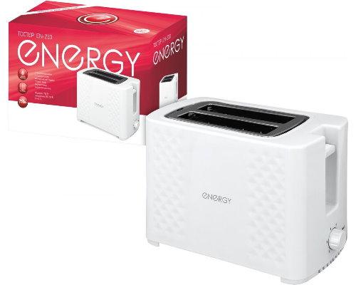 Тостер ENERGY EN-233 (750Вт, 5 степеней прожарки)