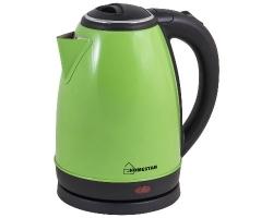 Эл. чайник  Homestar HS-1010 (1,8л диск) зеленый
