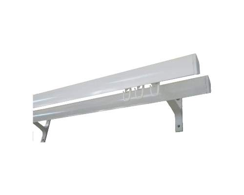 Карниз КМ 2,5м белый