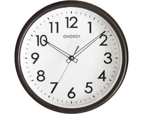Часы настенные кварцевые ENERGY ЕC-115 круглые