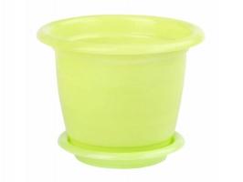 Горшок Виола  1л Зеленый с/п М7585