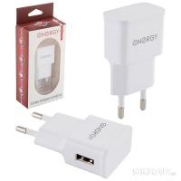 Зарядное устройство ENERGY ET-09 белый