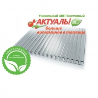 Поликарбонат прозр. 4мм 2,1*6м ACTUAL Bio 0,6кг/м2