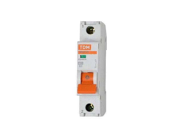 Автоматический выключатель 1п  6А С BA 47-29 TDM