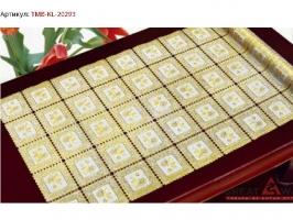 Салфетка в рулоне золото 20293  50см*20м