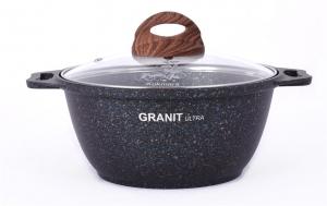Кастрюля Granit ultra 4,0л  ст/кр а/п кго42а