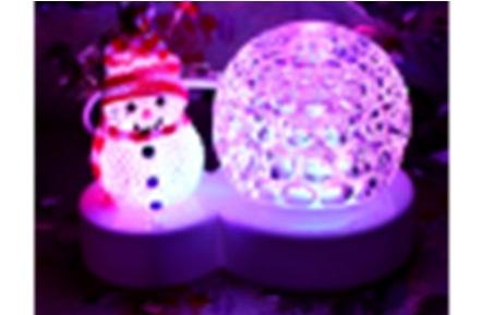 """Праздник огней 70979 """"Снеговик и шар"""""""