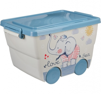 """Ящик для игрушек """"Деко"""" Слоник 2550 IDEA"""