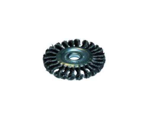 Щетка-крацовка плоская 0,5мм  125мм/22,2мм