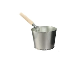 Ковш для бани оцинк. 1,5л дерев. ручка