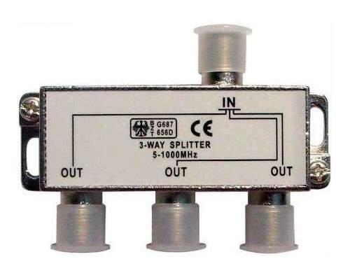 Краб на 3ТВ под F-разъем 5-1000 MHz Splitter-3